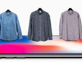 iPhoneとシャツ