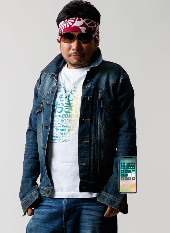 シャツとiPhone11