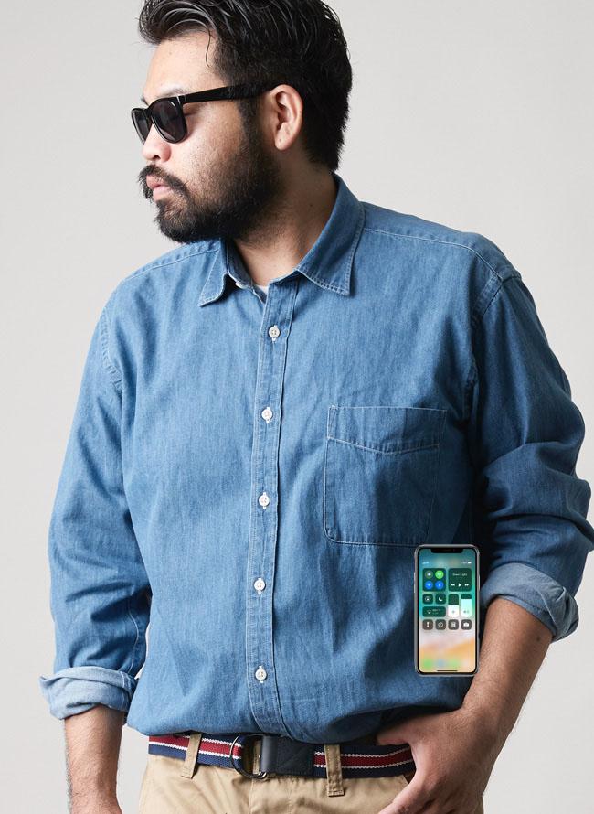 シャツとiPhone07