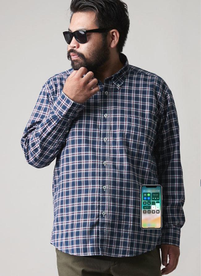 シャツとiPhone01